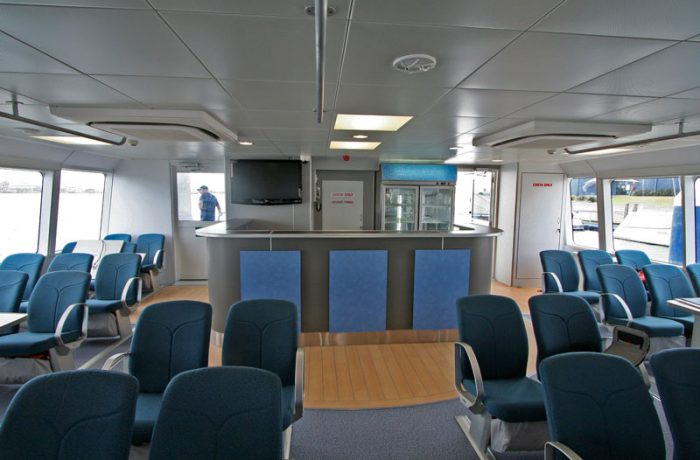 Licensed Bar onboard, Indoor Cabin on Ocean Dreaming 2