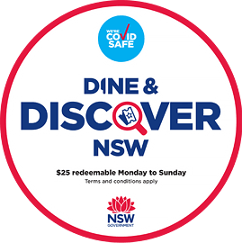 Dine & Discover Badge